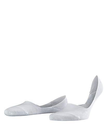 FALKE Herren Füßlinge Step - 92% Baumwolle , 1 Paar, Weiß (White 2000), Größe: 45-46