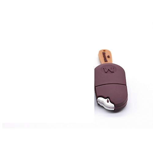 Usb 16gb chiavetta 16 giga mini piccola 16GB Pen Drive Novità Gelato al Cioccolato Chiavette USB 2.0 Regalo (M)