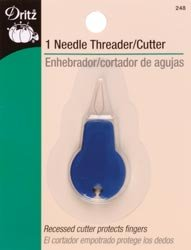 Dritz Needle Threader and Cutter 248 (3 Pack)
