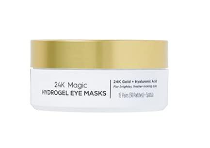 Ulta Beauty 24K Magic Hydrogel Eye Masks Size 15 Pairs.