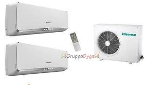 Climatizzatore Hisense Dual Inverter Free Match Essence 12+12+Amw3-24U4Sad1