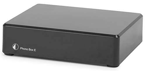 Pro-Ject Phono Box E, Hi-Fi Moving Magnet Phono Stage (Black)