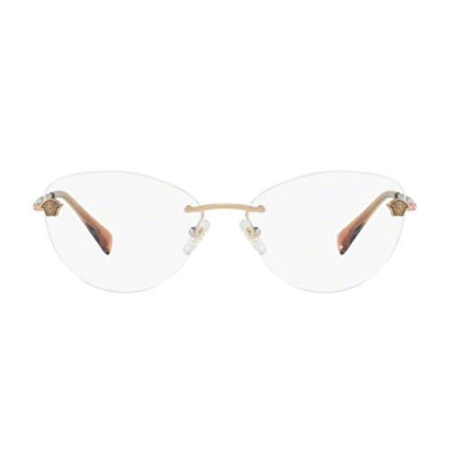 Versace Damen 0Ve1248B Brillengestell, Kupfer, 54