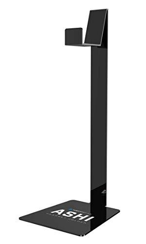 Newskill Ashi - Supporto per Cuffie Realizzato in metacrilato, (Struttura compatta, Grande compatibilità), Nero