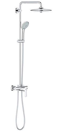 GROHE Euphoria System 260| Brausen & Duschsysteme - Duschsystem mit Einhandmischer für die Wandmontage | chrom | 27473001