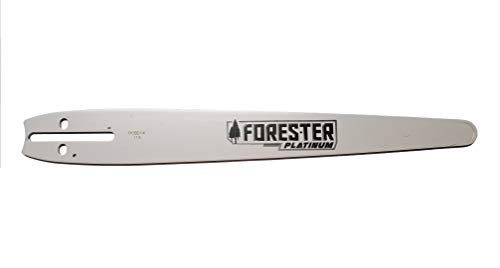 Forester 14' Chainsaw Platinum Carving Bar Univeral Mount, Fits Many Saws