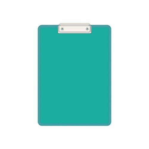 Porta-pad Lavagna 10 confezioni Plastic Appunti Binder multicolore con ganci retrattili file Organizzatore multi-function ufficio riunione per ufficio a scrittura boaed Portablocco ( Color : G )