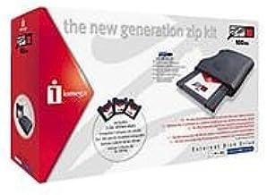 Iomega ZIP Powered New Generation Kit - Disk drive - ZIP ( 100 MB ) - USB - external - black