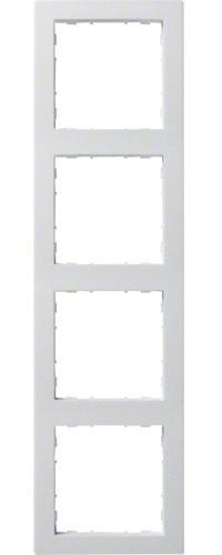 Hager Rahmen 4-f. bril/ws WYR140 kallysto.pur Abdeckrahmen 3250617021166