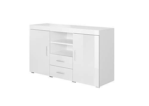 muebles bonitos Credenza Modello Roque Colore Bianco