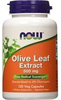 Now Foods Olive Leaf Extract 500mg/6%, 120 Vcaps Thank You to All The patrons We Hope That he has gained The Trust from Yo...
