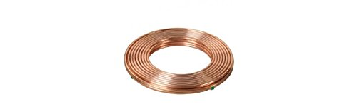 1//8 OD Refrigeration ACR Copper Tubing 50 FT Coils MADE IN USA