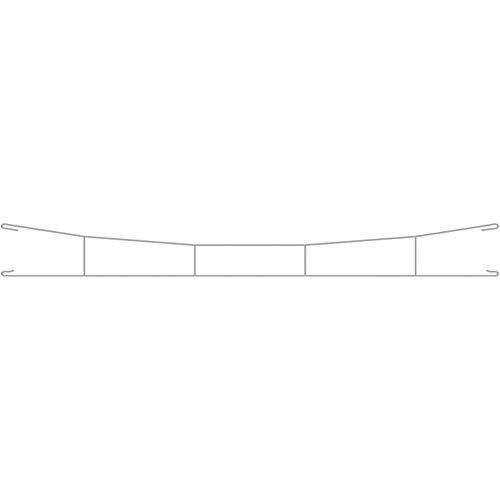 Viessmann 4143 Lot de 3 câbles de Conduite H0 360 mm