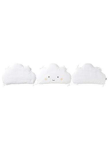 Tour de lit nuage