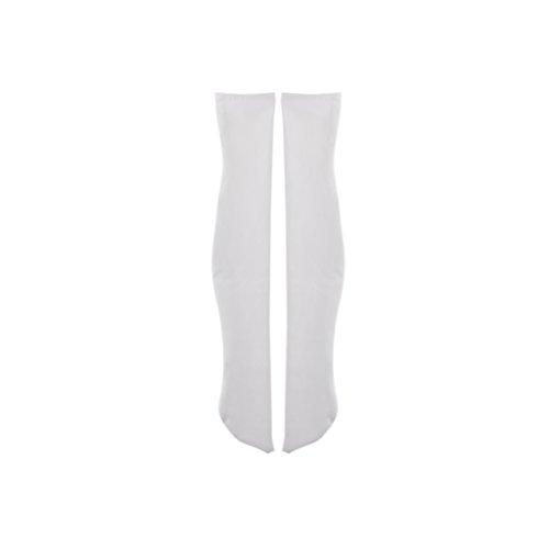 Injoyo 1/4 BJD Puppen Kleidung Schuhe Perücke Socken Zubehör Outfit Für LUTS Puppe - Weiß, 19 x 3.8cm