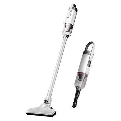 ERZHUI Aspirador inalámbrico, Aspirador de Mano Vertical 2 en 1,portátil para Limpiar el hogar o el automóvil,fácil y Divertido de Usar