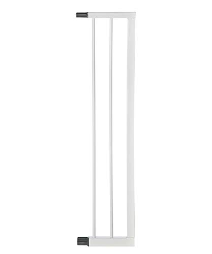 Geuther, 0091VS + in Verlängerung für Treppenschutzgitter Easylock Plus TÜV geprüft, weiß, 16 cm