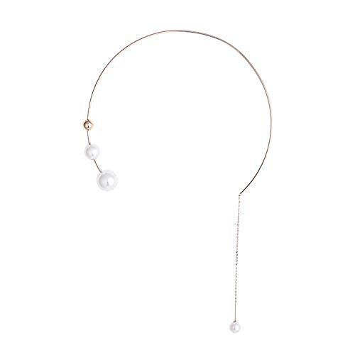 JSYHXYK Collar Collar De Flecos Cadena Femenina Colgante De Cadena De Hueso