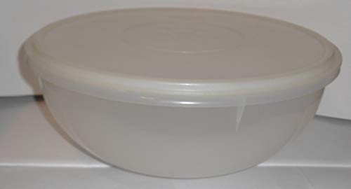 Tupperware Vintage 26cup Fix N Mix Bowl Sheer with Matching Seal