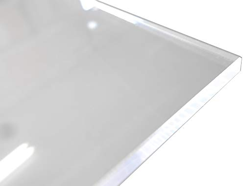 アクリル板 (押出し) 透明 - 板厚 (3mm) 1830mm × 915mm 以上