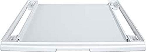 Bosch WTZ27400 Zubehör für Wäschepflege / Verbindungssatz mit Auszug / für platzsparendes übereinander Aufstellen von Waschmaschinen und Trocknern