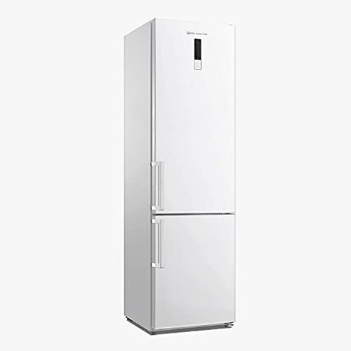 EAS ELECTRIC SMART TECHNOLOGY | EMC1880SW1 | Frigorífico Combi | Color Blanco | 188x60 cm E/A++ | Dos cajones | Pantalla LED en puerta | Refrigerador 224 litros Congelador 86 litros | Rápido