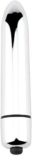 Dliso4 EIN □ l Hintern t □ yf □ Tish-Stick Jumping E-g-g-Druck entspannen Geschenk: 10 Schwingungsmodi - Wasserdicht - 7Th Batteriebetriebene - Mute - WLAN (Schwarz) (Color : Silver)