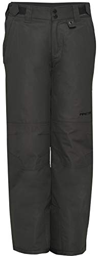Arctix Youth Snow Pants With Reinforced Knees and Seat, Charcoal, Medium