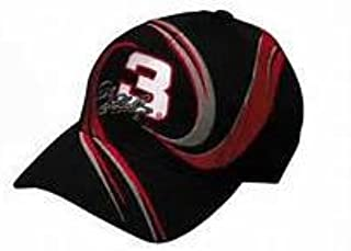 2001 Intimidator Dale Earnhardt Sr #3 Black With Red & Silver Accents Vortex GM Goodwrench Service Plus Hat Cap One Size Fits Most OSFM Chase Authentics (This Was the Rockingham Tribute Hat Worn By Pitcrews