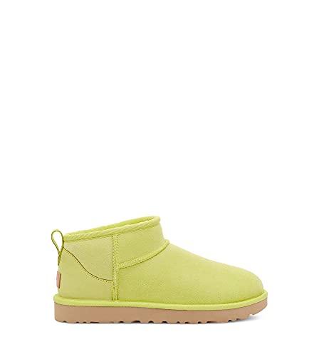 UGG Women's Classic Ultra Mini Fashion Boot, Pollen, 8