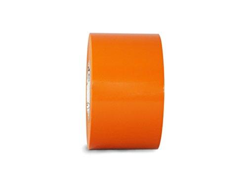 T.R.U. EL-766AW Allzweck-Isolierband, 5,1 cm (B) x 180 cm (L), UL/CSA-gelisteter Kern, aus synthetischem Gummi, geeignet für den Einsatz bei 600 V und 80 °C, Orange