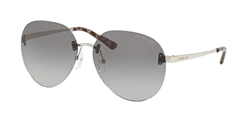 Michael Kors MK1037 Silver/Gray Lens Sunglasses