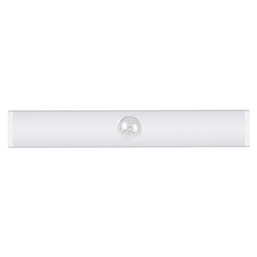 non_brand Detector de Movimiento Armario Luz Interior Inalámbrico USB Rechargeabl - Blanco 15cm