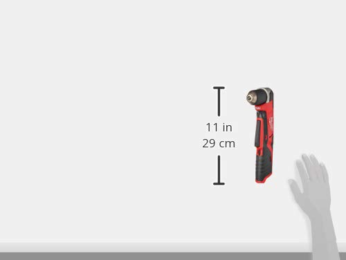 Product Image 8: Milwaukee 2415-20 M12 12-Volt Lithium-Ion Cordless Right Angle Drill, 3/4 In, Bare Tool, Medium