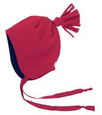 Disana Walk-Mütze 100% bio-Schurwolle/ Futter 100% bio-Baumwolle pflaume (02 (46 - 50 cm), pflaume) - 5