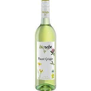 BioRebe Pinot Grigio Weißwein trocken IGP, 6er Pack (6 x 0.75 l)