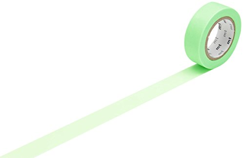 mt Washi Masking Tape Klebebandrolle Shocking Green