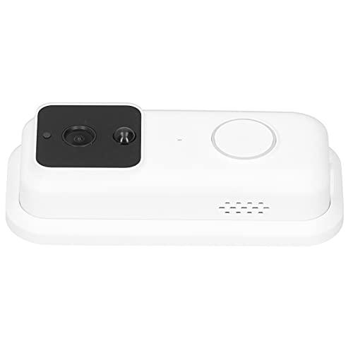Timbre Video Timbre Cámara Inalámbrico WiFi Timbre Cámara Detección de Movimiento Timbre PIR Timbre Inteligente 850nm Visión Nocturna Infrarroja para iOS y