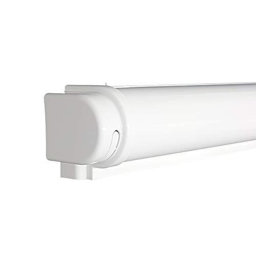 Victoria M. Kassette für Tenebra Verdunkelungsrollo & Thermorollo mit Breite 130 cm, weiß