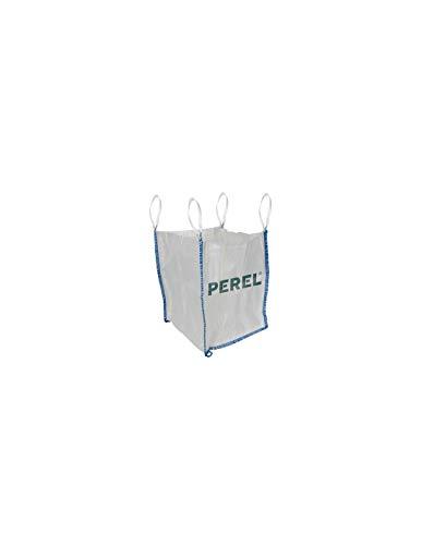 Perel SDB500 Müllbeutel, 500 l, Weiß 1 – 500 l, Weiß, Polypropylen (PP), 75 cm, 750 mm, 980 g