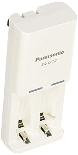 Panasonic 充電式EVOLTA 充電器セット 単4形電池 2本付 お手軽モデル K-KJ52LLB02