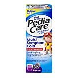 PediaCare Children's Multi-Symptom Cold, Grape, 4 Ounces Each (3)
