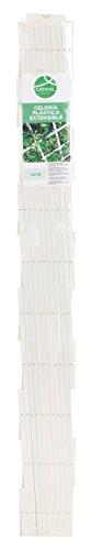 Catral 43060004 - Celosía deco PVC extensible, 1.0 x 200 x 100 cm, color blanco