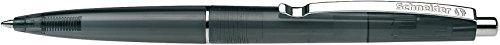 Schneider 132001 Schreibgeräte Kugelschreiber K 20 Icy Colours, M, schwarz, Schaftfarbe: schwarz transparent
