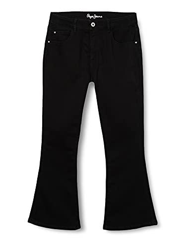 Pepe Jeans Kimberly Flare Pants, Black, 16 Girls