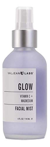 Valjean Labs Face Mist - Glow, Vitamin C and Magnesium (4 fl oz)