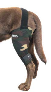 Walkabout Harnesses Camouflage Knee Brace for Dogs Treat ACL CCL Injury Arthritis Joint Pain Fatigue and Stress with The Walkabout Knee Brace  Medium-Large Right