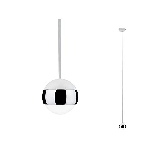 Paulmann 70926 LED Pendelleuchte Capsule incl. 1x6 Watt dimmbar Hängelampe Deckenlampe Glas, Metall Warmweiß 2700 K