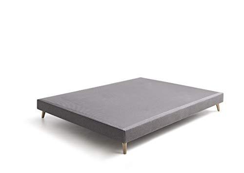 Base tapizada 200x200 de estilo Nórdico