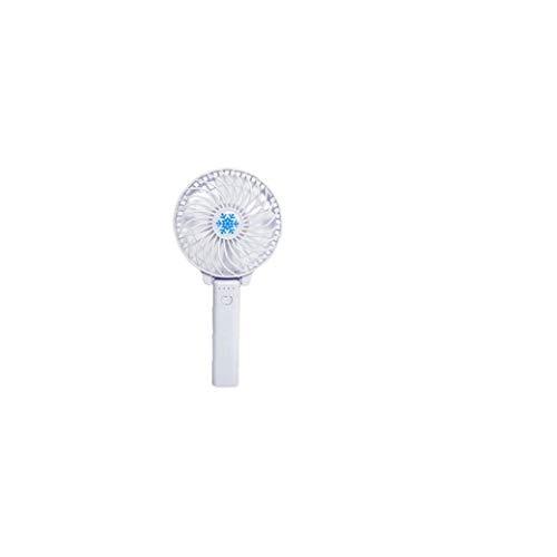 Mini Ventilador Asidero Portátil Plegable Portátil Mini Ventilador Usb De Energía De La Batería Recargable De Mano De Bar Los Aficionados Blanca 1pc Utensilios De Cocina Gadgets